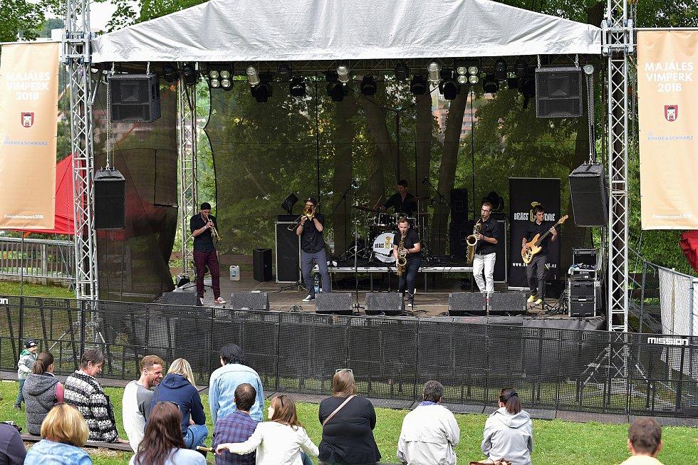 Koncert Majáles 2018 se konal v sobotu 19. května ve Vimperku.