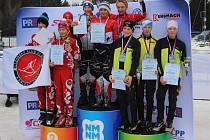 Štafeta žáků Fischer Ski klubu Šumava Vimperk skončila na MČR třetí.