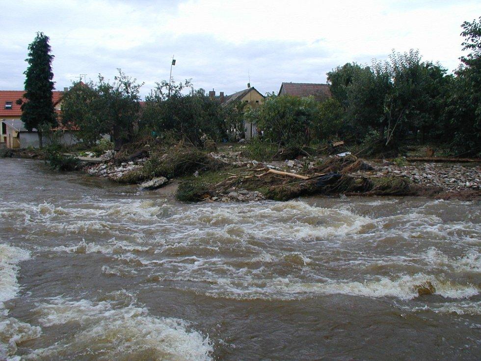 Povodně v roce 2002. Ilustrační foto
