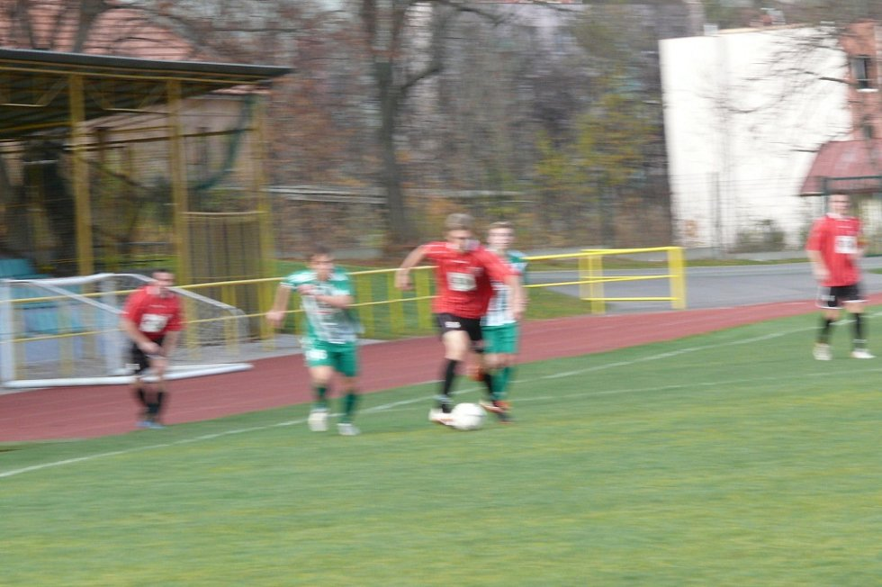 Prachatice - Jankov 0:3.
