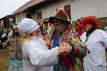 Masopust završily masky tradičně v úterý v Jámě.