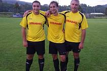 Odleva Michal Turek, Václav Turek ml. a Václav Turek st.