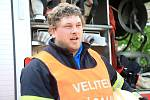 Cvičení vlachovobřezských hasičů.