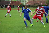 Fotbalová I.A třída: Vimperk - Lhenice 0:1.