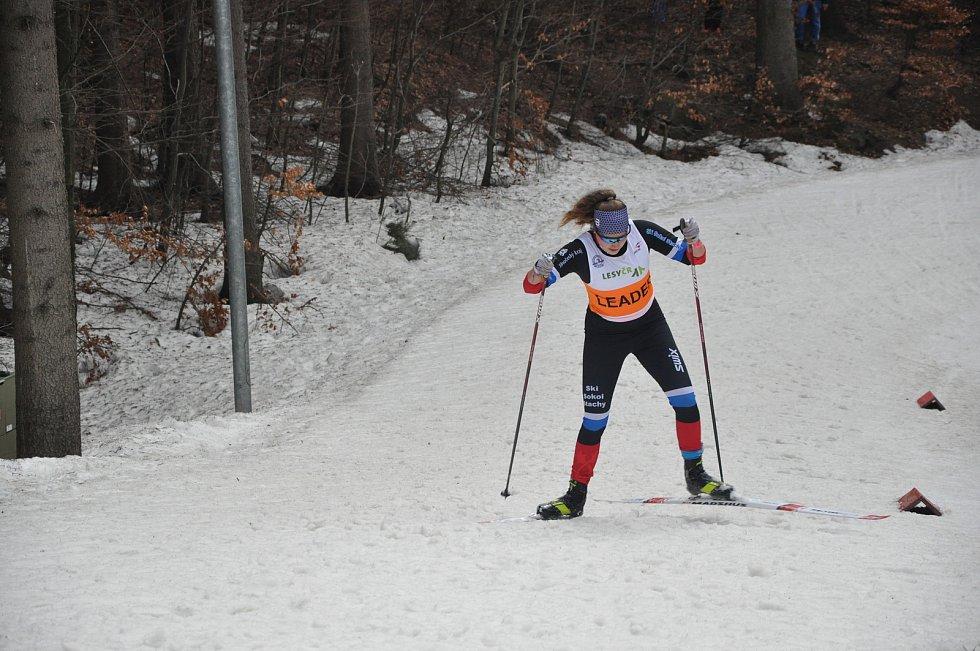 Hanka Randáková kraluje lyžařkám v republice.