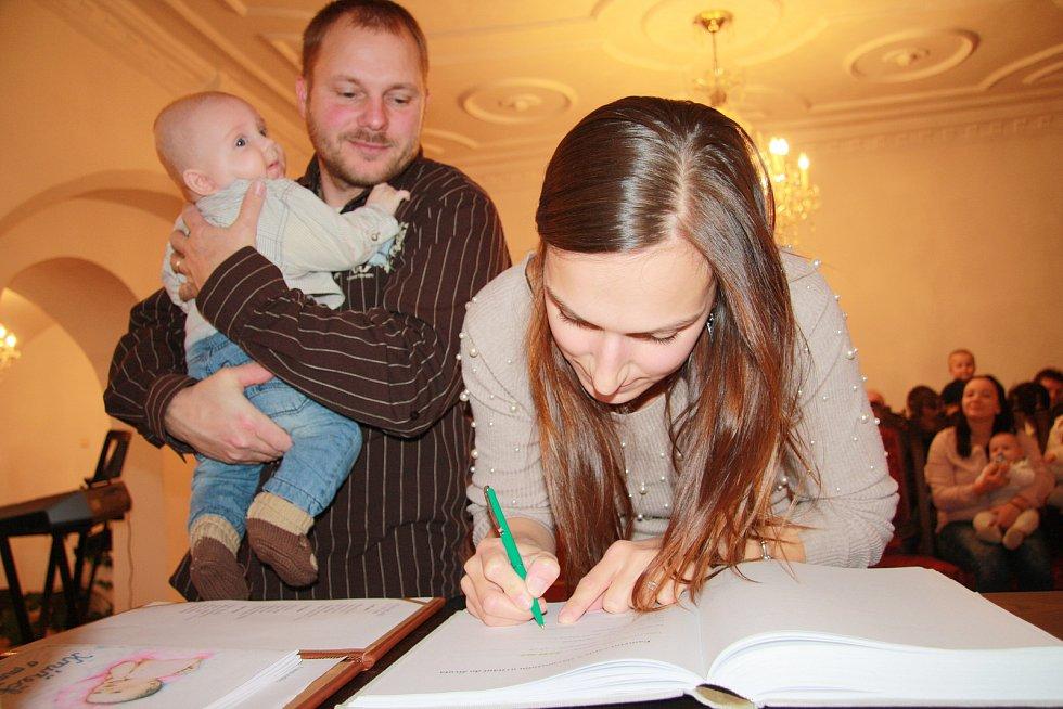 Adam Maryska s rodinou.