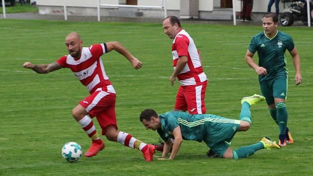 Fotbalová příprava: Jankov - Lhenice 4:2.