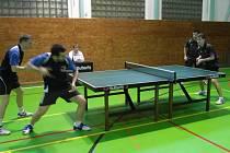 Stolní tenisté Libínu 1096 předvedly vynikající zápasy.
