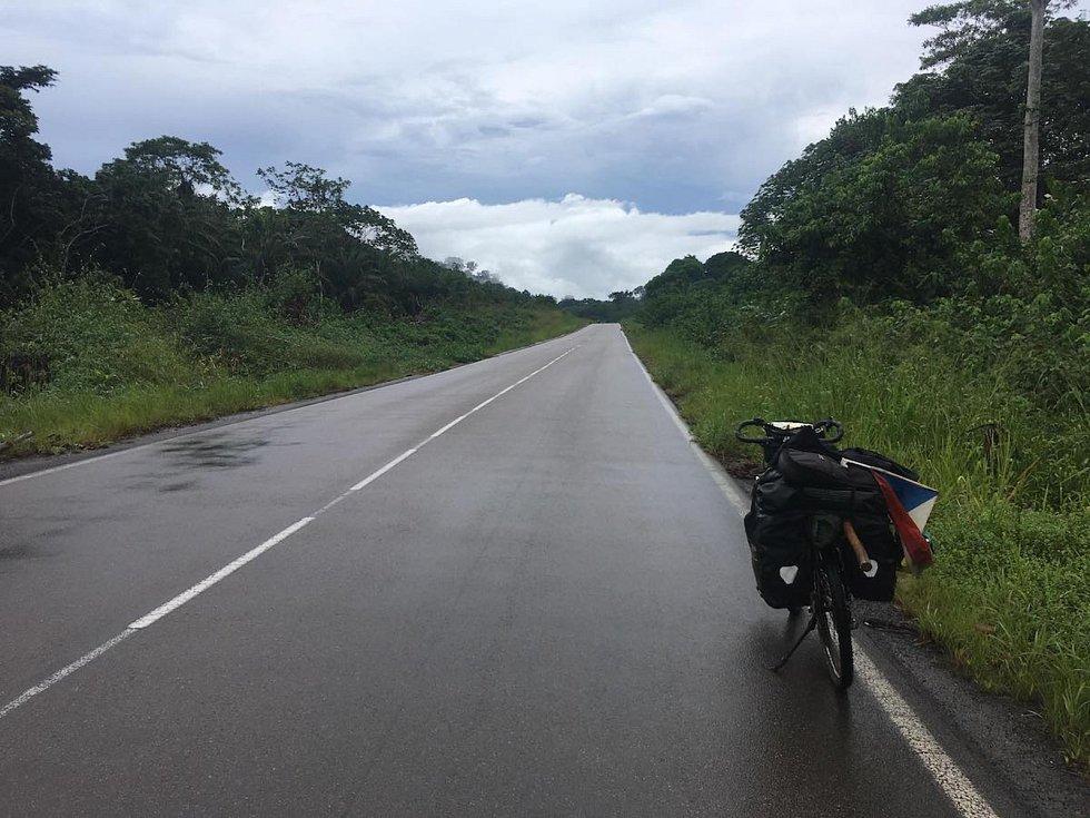 Z Gabonu do Konga zamířil cestovatel Tadeáš Šíma z Prachatic.