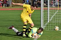 Fotbalová I.A třída: Vimperk - Lhenice 1:1.