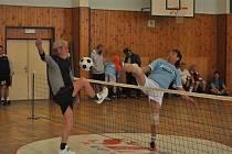 Zdíkovští nohejbalisté pořádali tradiční turnaj trojic.