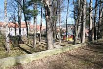 Ve Štěpánčině parku je kolem třiceti stromů, kompletní dendrologický posudek na všechny, který by řekl, v jakém zdravotním stavu stromy jsou, ale město dodnes nemá.