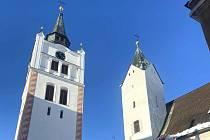 Vimperská městská zvonice.