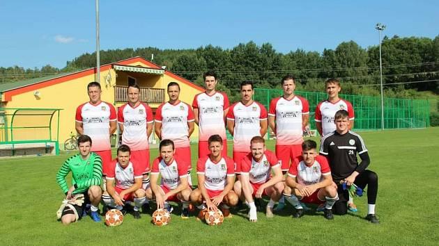 Fotbalisté FK Lažiště.
