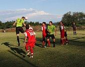 Fotbalový OP Prachaticka: Lhenice B - Netolice B 3:2.