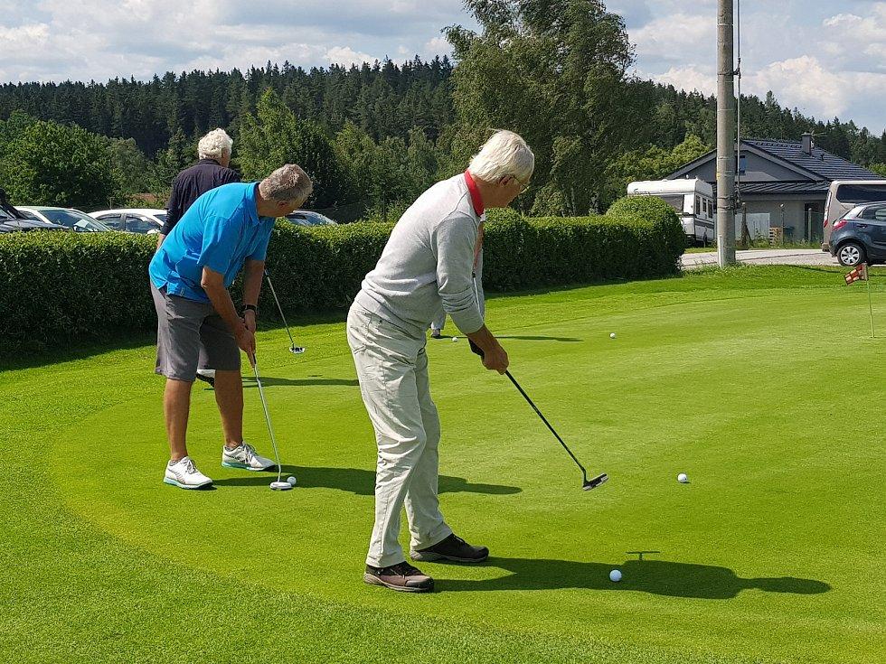 Jihočeská senior golf tour.