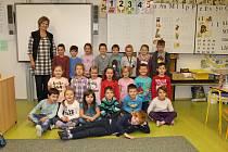 První třída ze ZŠ Čkyně
