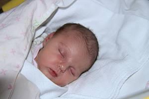 Laura JITERSKÁ, Smědeč. Narodila se v pátek 7. prosince v 5 hodin a 5 minut v prachatické porodnici. Vážila 2900 gramů. Rodiče: Martina Abelovszká a Marek Jiterský.