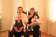Vít Vaněček se rodičům Blance a Zdeňkovi narodil 14. května.