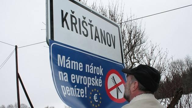 K akci se připojil i Křišťanov.