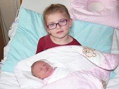 Tereza Lencová se v prachatické porodnici narodila v úterý 13. prosince ve 13.57 hodin. Vážila 3,80 kilogramu. Rodiče Zuzana a Eduard jsou z Prachatic. Na malou Terezku se těšila sestřička Gábinka (4,5 roku).