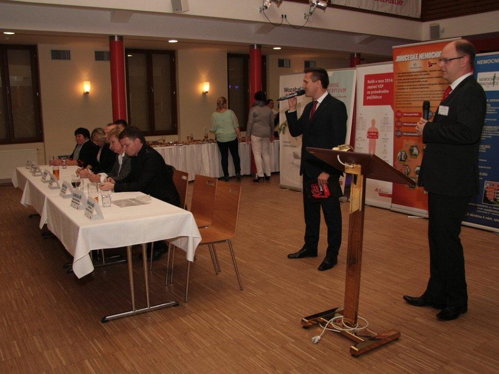 Po dopoledním soutěžním programu čekal na všechny zúčastněné slavnostní večer s vyhlášením výsledků.