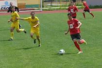Tatran (v červeném) porazil dražice 2:0.