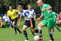 Fotbalová I třída pokračovala dalším kolem.
