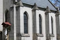Hřbitovní kaple Nejsvětějšího srdce Páně ve Vimperku, ilustrační foto