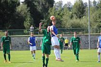 Krajské fotbalové soutěže slibují zajímavé zápasy.