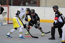 Semifinále play off 1. ligy: HBC Prachatice - HBC Hostivař 5:4.