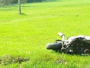 Řidič motocyklu nehodu nepřežil.