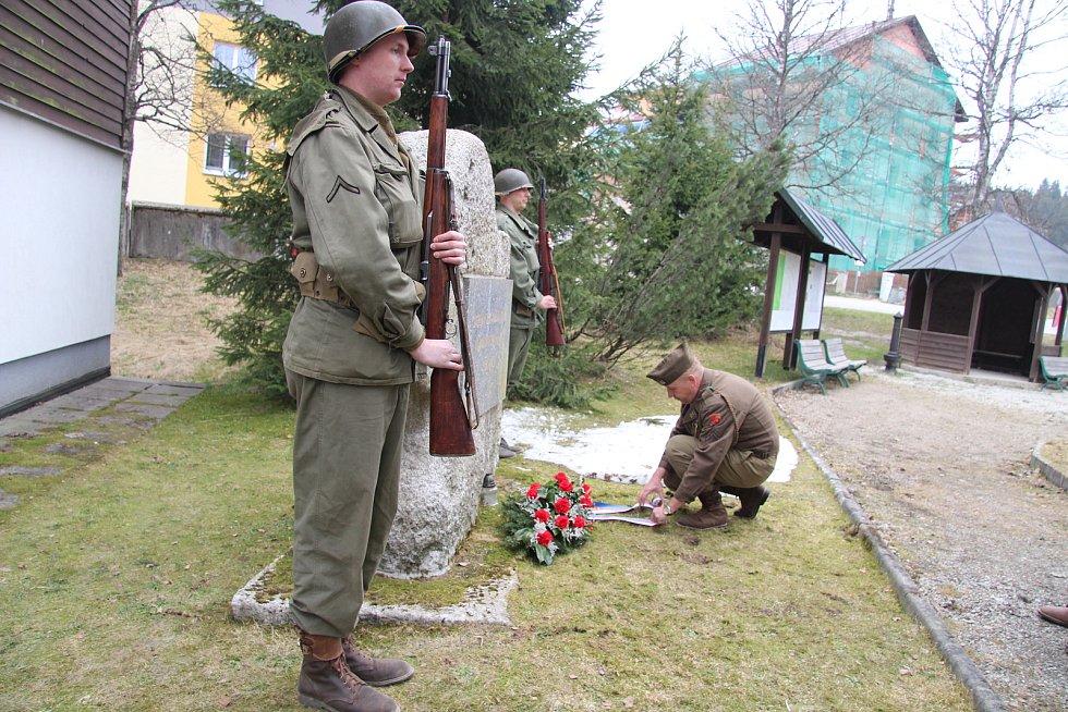 Ve Kvildě si připomněli květnové události roku 1945.