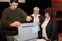 Vimperští zastupitelé volili pátého člena rady města.