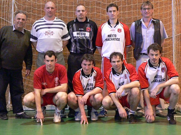 Vítězný tým futsalového klání měst.