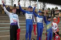 Jan Vastl (vlevo) bral další medaili.