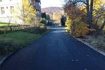 Oprava silnice na Lázních sv. Markéty trvala deset dní.