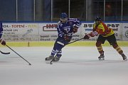 HC Vimperk - Sokol Radomyšl 3:2 (1:0, 2:0, 0:2).