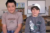 O sběratelství jsme si povídali s Vaškem Fatkou (10 let) a Josefem Tesařem (13 let).