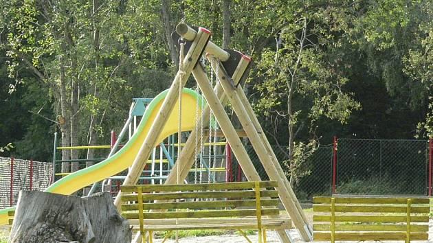 V areálu mateřské školy stačí dodělat oplocení, pak bude zahrada pro děti kompletní. Ilustační foto.