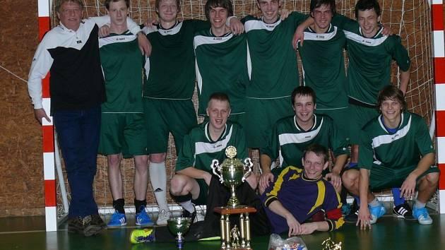 Vítězný tým MSK Bohemia.