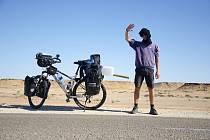 Tadeáš Šíma z Prachatic si splnil sen. Afriku projel na kole a vrátil ze zpět do České republiky.