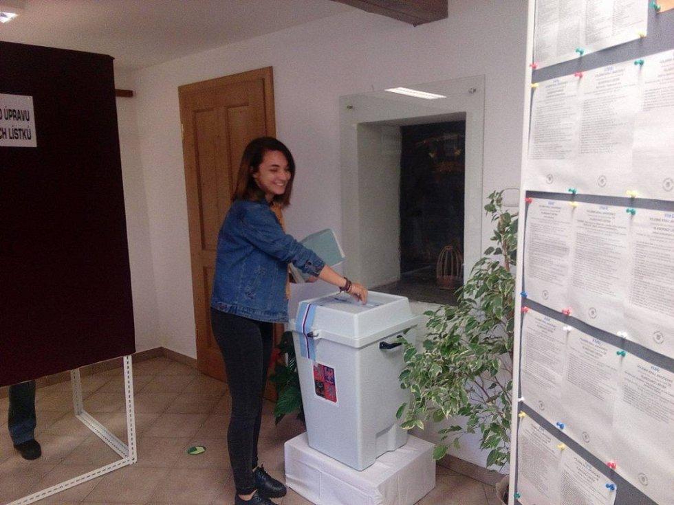 Volby v Husinci.