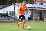 Fotbalový KP staršího dorostu: Vimperk - Hradiště / Písek B 5:0.