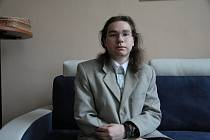 Lukáš Kuneš, student prachatického gymnázia