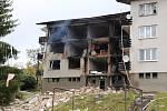 Plyn vybouchl ve čtvrtek 3. října v bytovce v Lenoře.