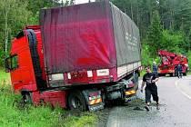 Passport silnic usnadňuje mimo jiné práci při šetření dopravních kolizí. Ilustrační foto.