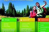 Nové webové stránky NP Šumava.