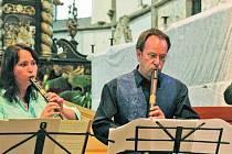 HUDBA V KOSTELE. Ukončení Letní školy staré hudby v Prachaticích se uskuteční dnes 18. července v kostele sv. Petra a Pavla u prachatického hřbitova.
