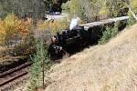 Volarští slavili kulatiny železnice.